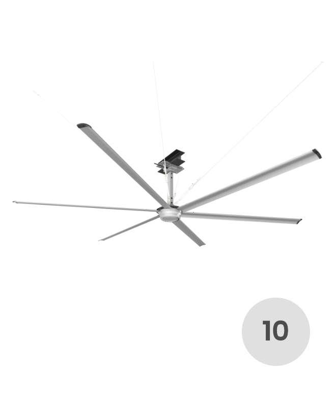 10 feet HVLS fan