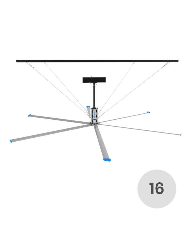 16 feet HVLS fan
