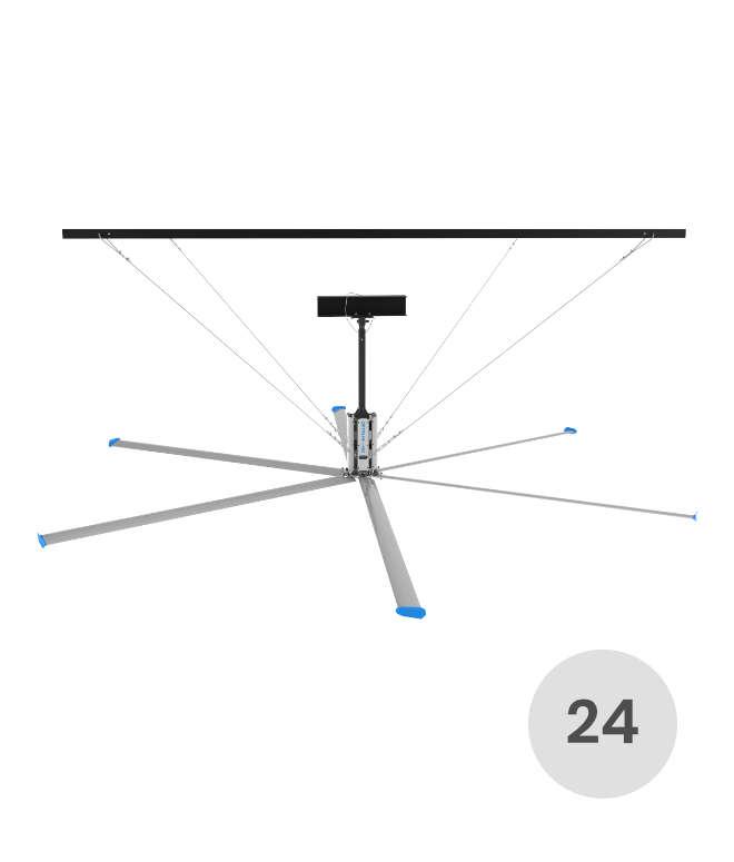 24 feet HVLS fan
