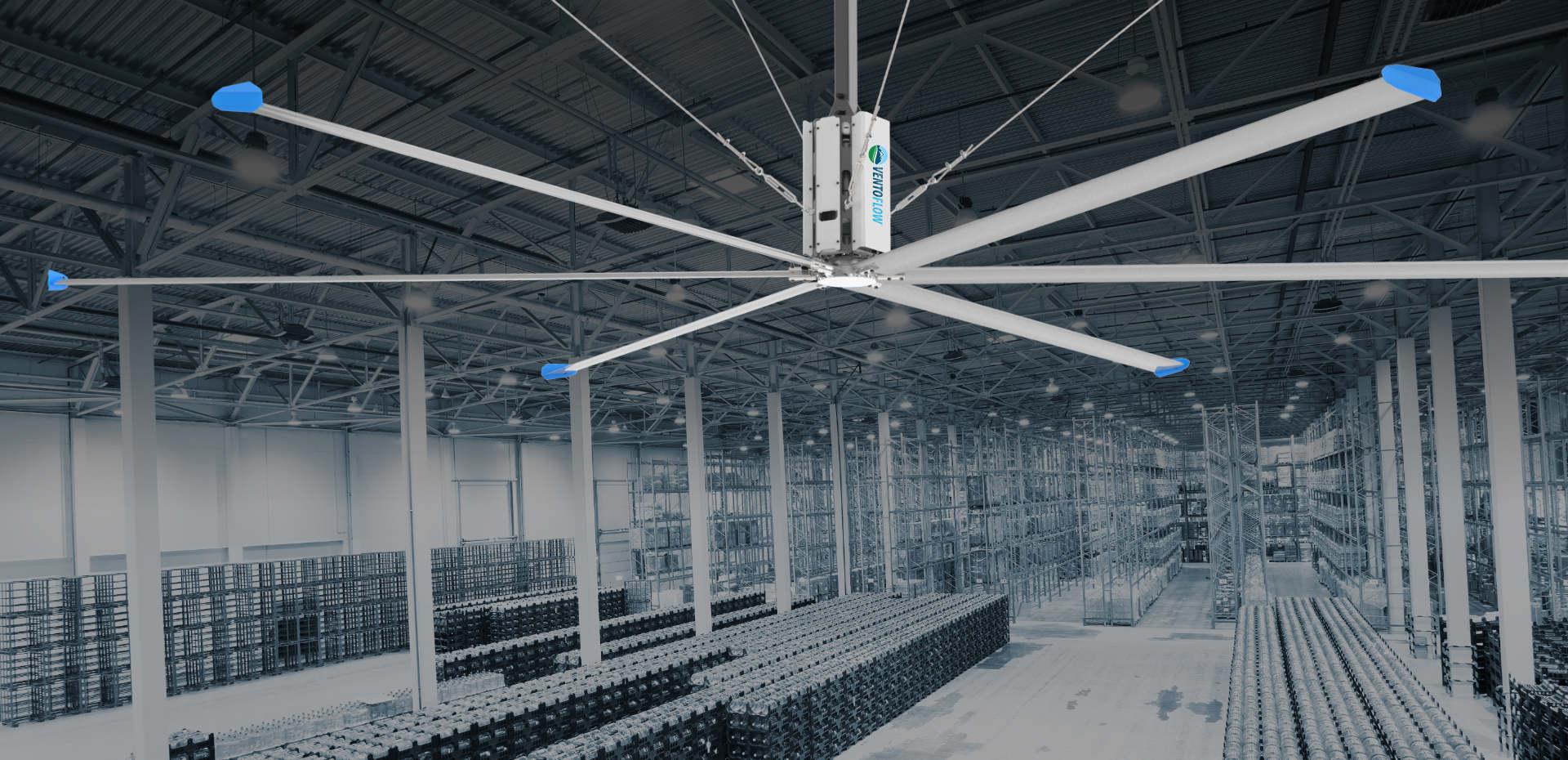 Industrial HVLS Ventilation